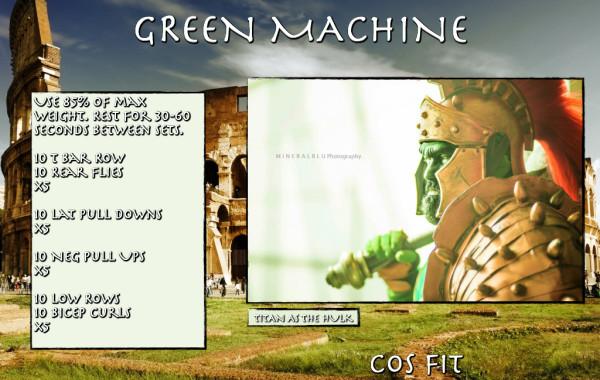 The Green Machine